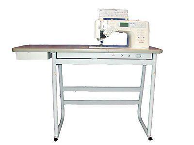 Рriсе 4040 Janome Sewing Machine Table White Steel Frame Interesting Janome Sewing Machine Tables