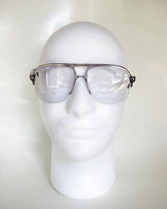3878bfed177 Vintage Italian Sunglasses Mens Eyeglasses by OliverandAlexa ...