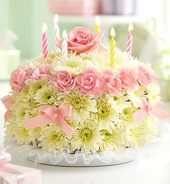 Flower birthday cake pastel picturePNG smart Pinterest Flower