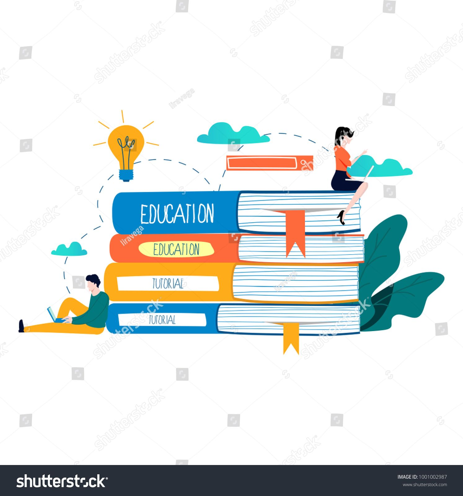 Education Online Training Courses Distance Education Vector Illustration Internet Studying Onlin Online Training Courses Online Training Distance Education