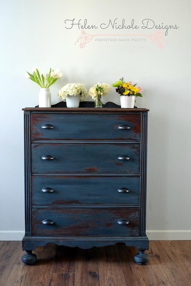 Helennicholedesigns   Dresser In Artissimo {mms Milk Paint}