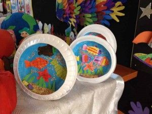 paper plate aquarium craft idea (1) | Aquarium craft ideas for kids ...