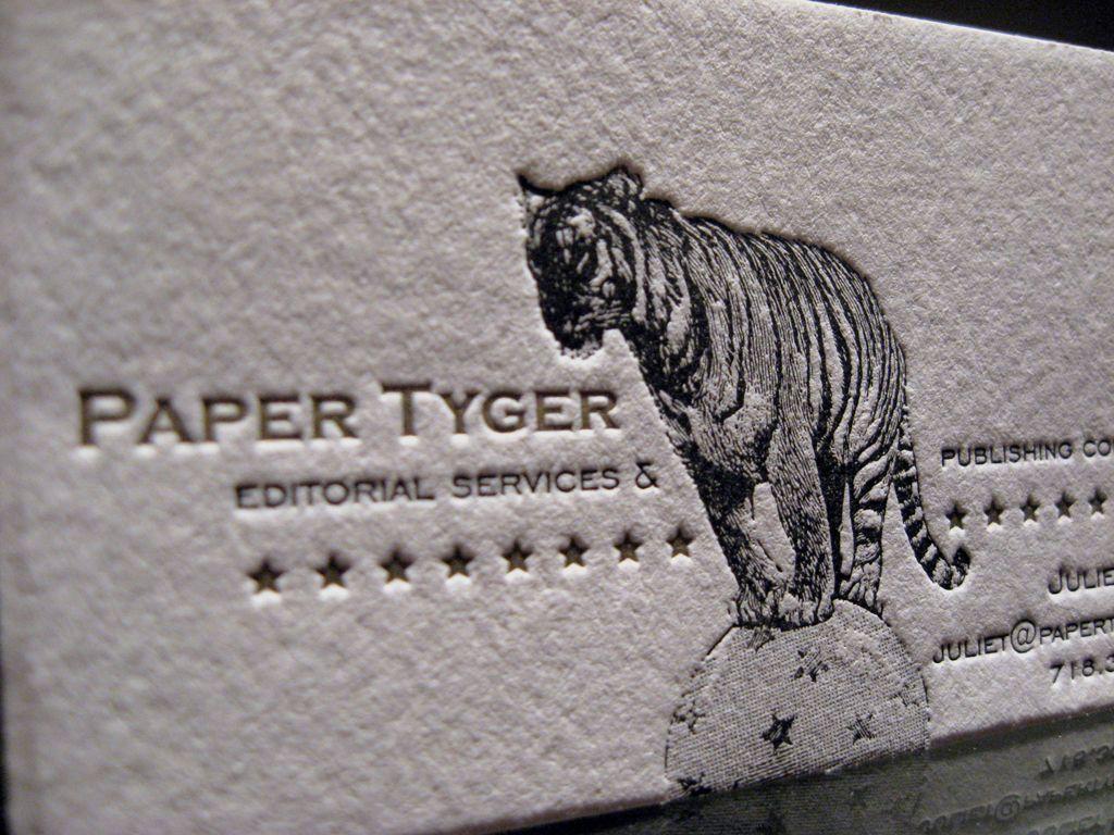 Paper Tyger :: Custom Work :: Dolce Press...LOVE this!
