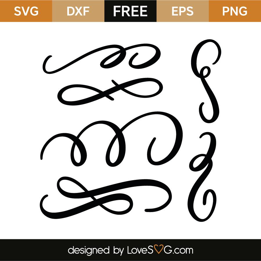 Download Decorative elements   Cricut fonts, Svg files for cricut ...