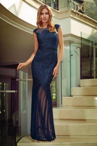 Sheer maxi dress uk