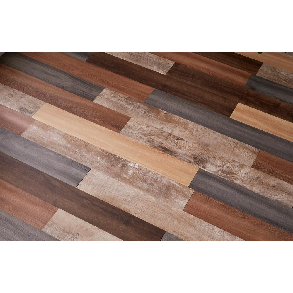 Versaplank Assorted Commercial 6 In X 48 In Peel And Stick Luxury Vinyl Plank Flooring 20 Sq Ft Case 17135 The Home Depot Luxury Vinyl Plank Flooring Vinyl Plank Vinyl Plank Flooring