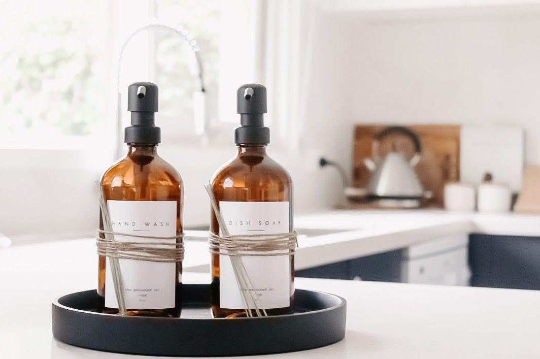 Glass Soap Dispenser Bottles For The Kitchen And Bathroom Glass Soap Dispenser Kitchen Soap Holder Dish Soap Dispenser