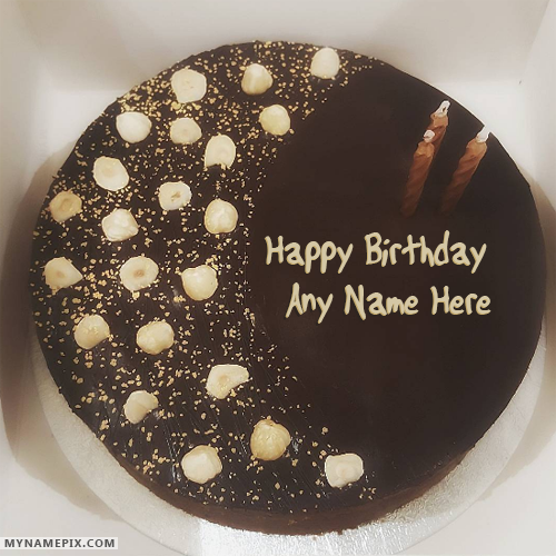 Best Decorated German Chocolate Birthday Cake HBD Cake Pinterest