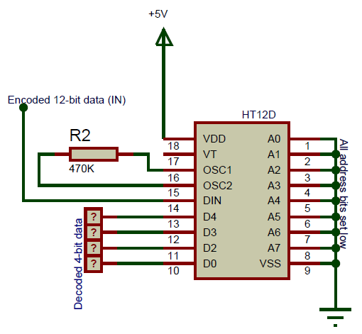 CD4052 Multiplexer Circuit Diagram | Electronic in 2019