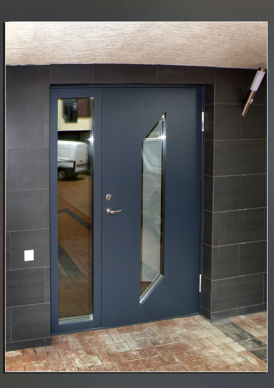 Secure Front Doors For Flats
