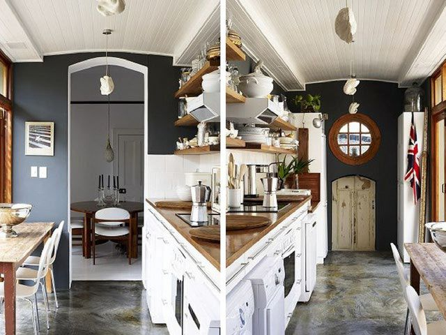 10 Fantastic Space Saving Galley Kitchen Ideas