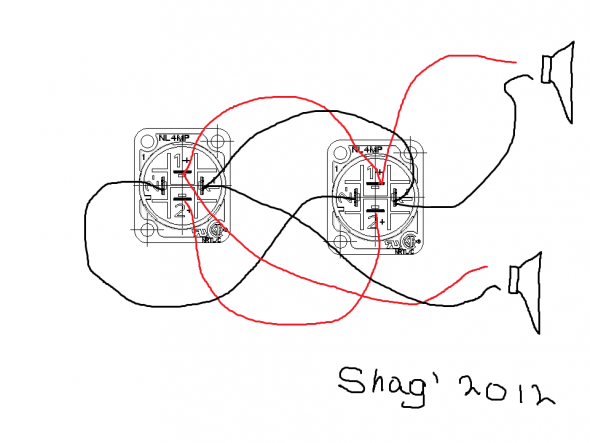 4 Pole Speakon Wiring Diagram