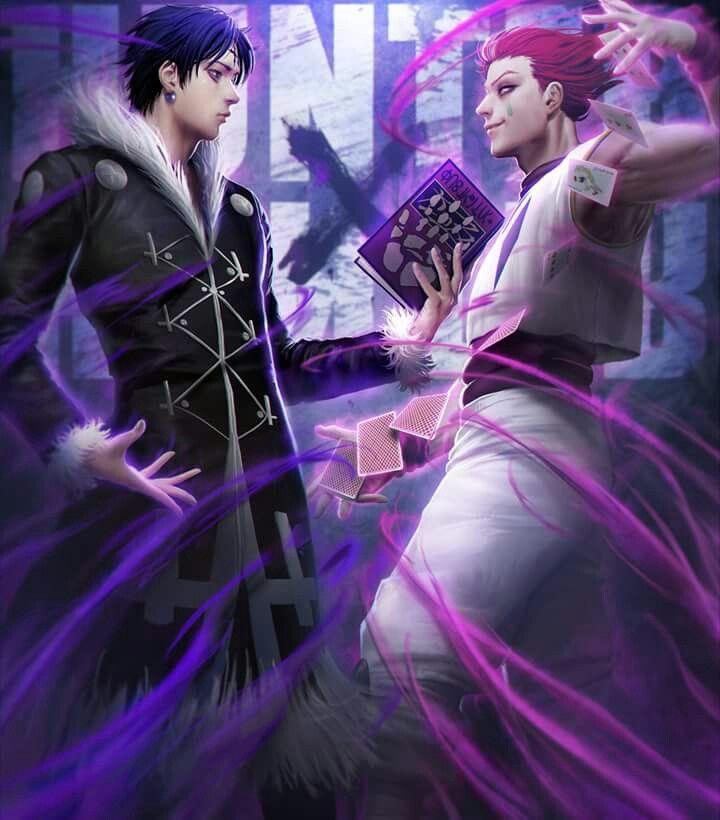 Hunter X Hunter Chrollo Vs Hisoka Fanart Hunter X Hunter
