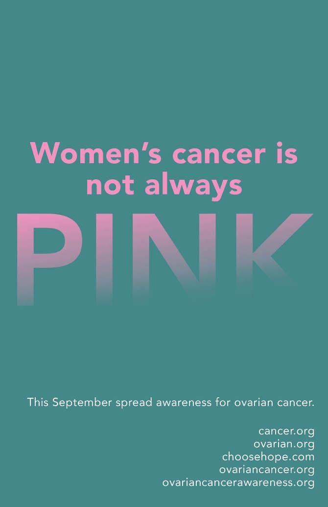 Ovarian Cancer Awareness Portfolio Toptobottom Wearteal