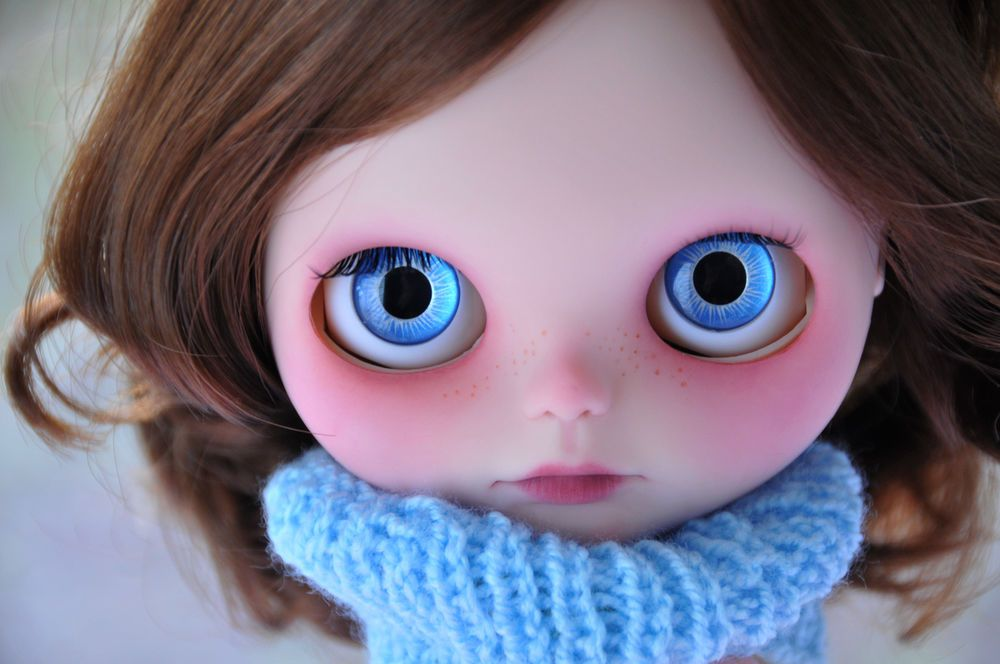 OOAK Custom Blythe Doll - ELISA - Customized by Zuzana D.