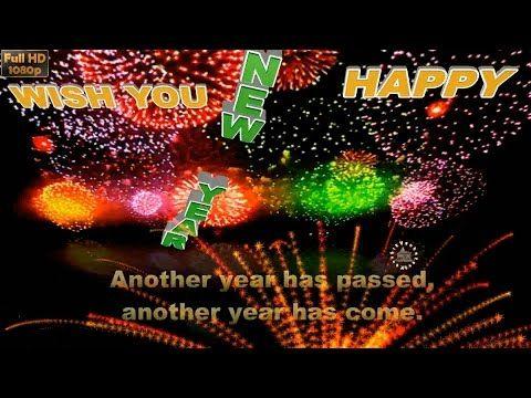 Happy New Year 2017 Wishes Whatsapp Video New Year Greetings