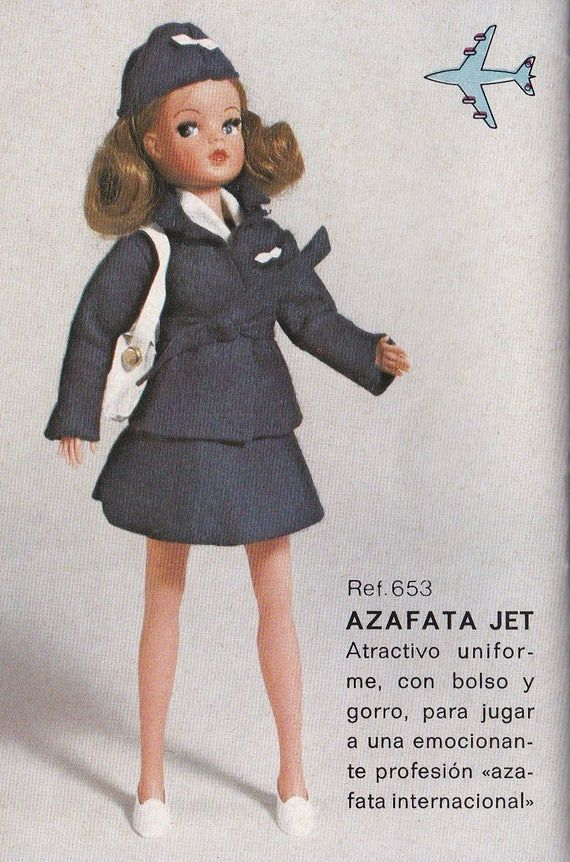 1974 Pedigree Sindy Spanish doll leaflet / brochure pdf #spanishdolls