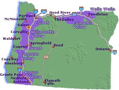 One Of My Favorite Wine Regions In The US Oregon Is Capable Of - Us wine regions map