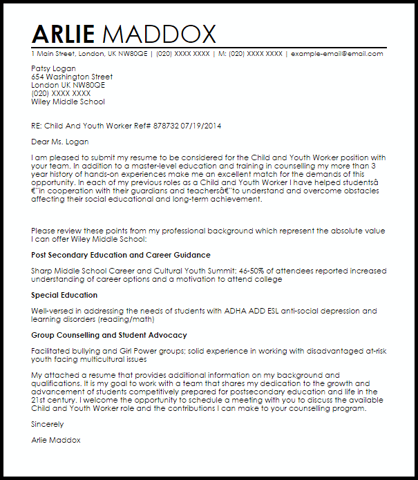 Cover Letter Template Youth Work Cover Coverlettertemplate Letter Template Youth Job Cover Letter Nursing Cover Letter Cover Letter Sample