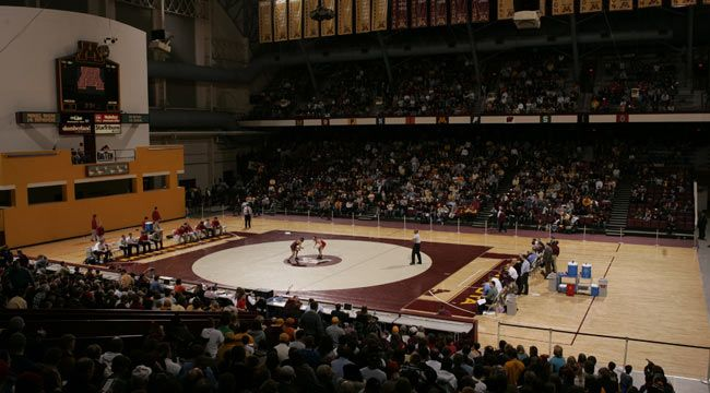 University Of Minnesota Official Athletic Site Facilities Minnesota Wrestling Sports Facility