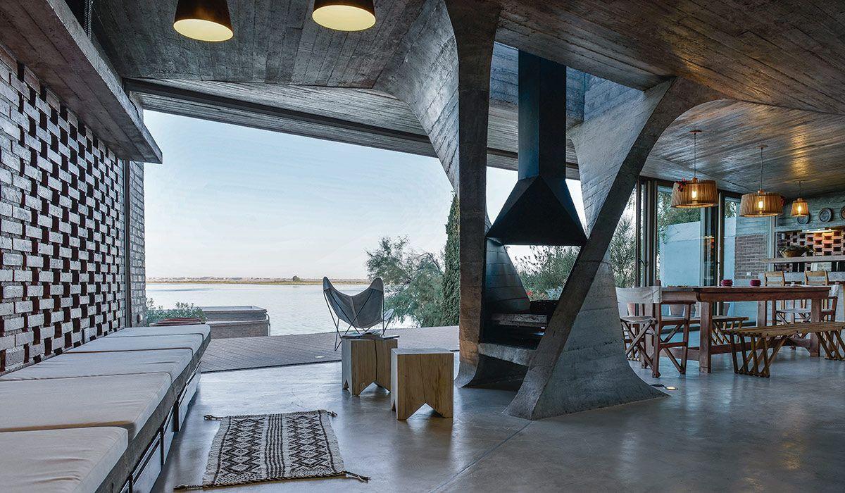 luxus chalet-wohnzimmer loft-stil kamin heizeinsatz dekorationen, Wohnzimmer dekoo