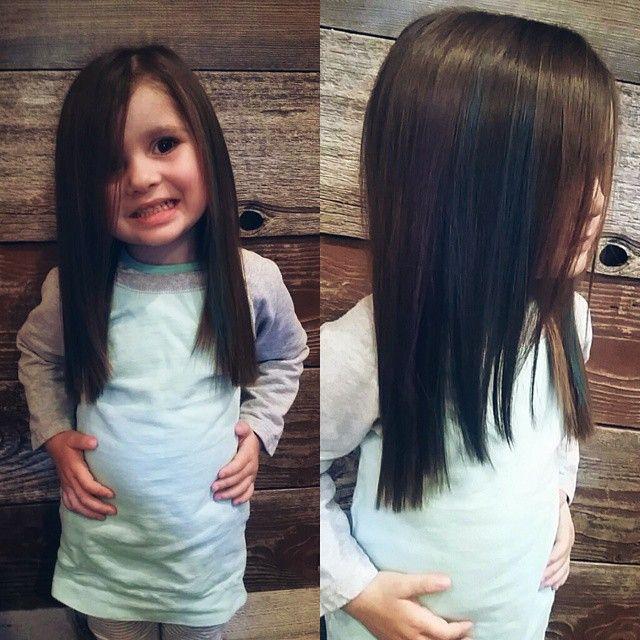 Hair cut for little girls Hair Pinterest Peinados para niñas