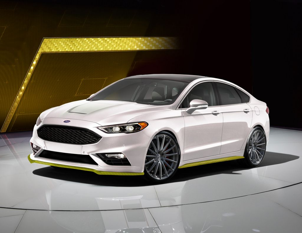 2017 Ford Fusion Sport Ballistic by Webasto Thermo & fort North