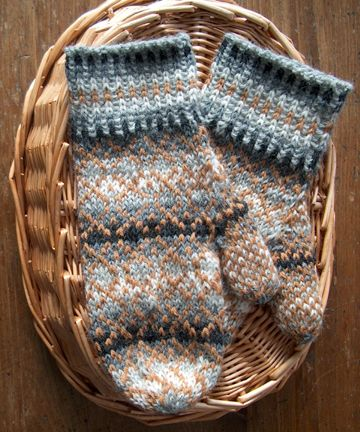 Countrywool Fair Isle Shaded Mittens   Countrywool Knitting ...