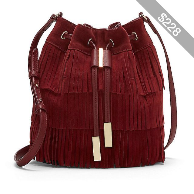 Vince Camuto Joni- Tiered Fringe Cross Body