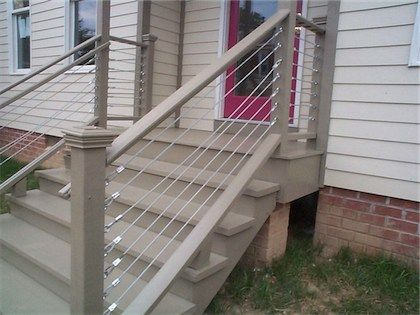 External Stair Railings | Proposal To Revisit New Construction In  Oldu0026Historic Districts .