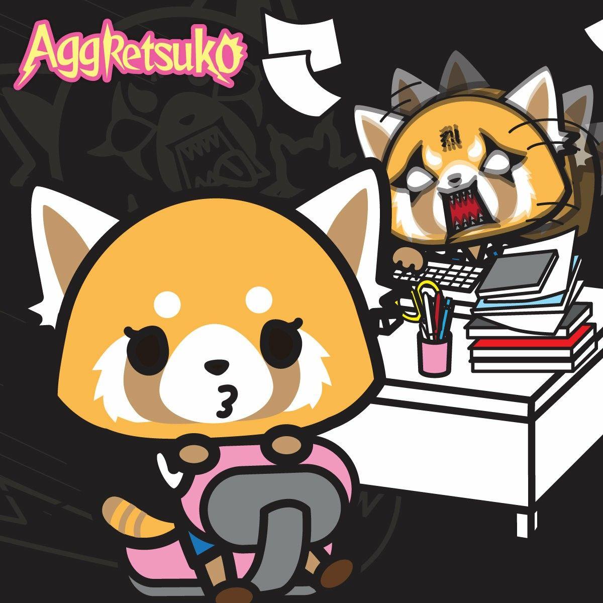 Aggretsuko Japanese culture, Anime, Cartoon