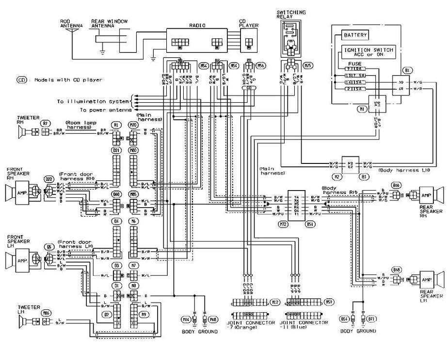 Trailer Wiring Harness Diagram For 2003 Nissan Xterra