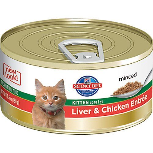 Hill's Science Diet Kitten Liver And Chicken Entrée Canned