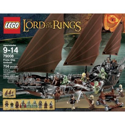 Lego The Lord Of The Rings Pirate Ship Ambush 79008 Gifts And
