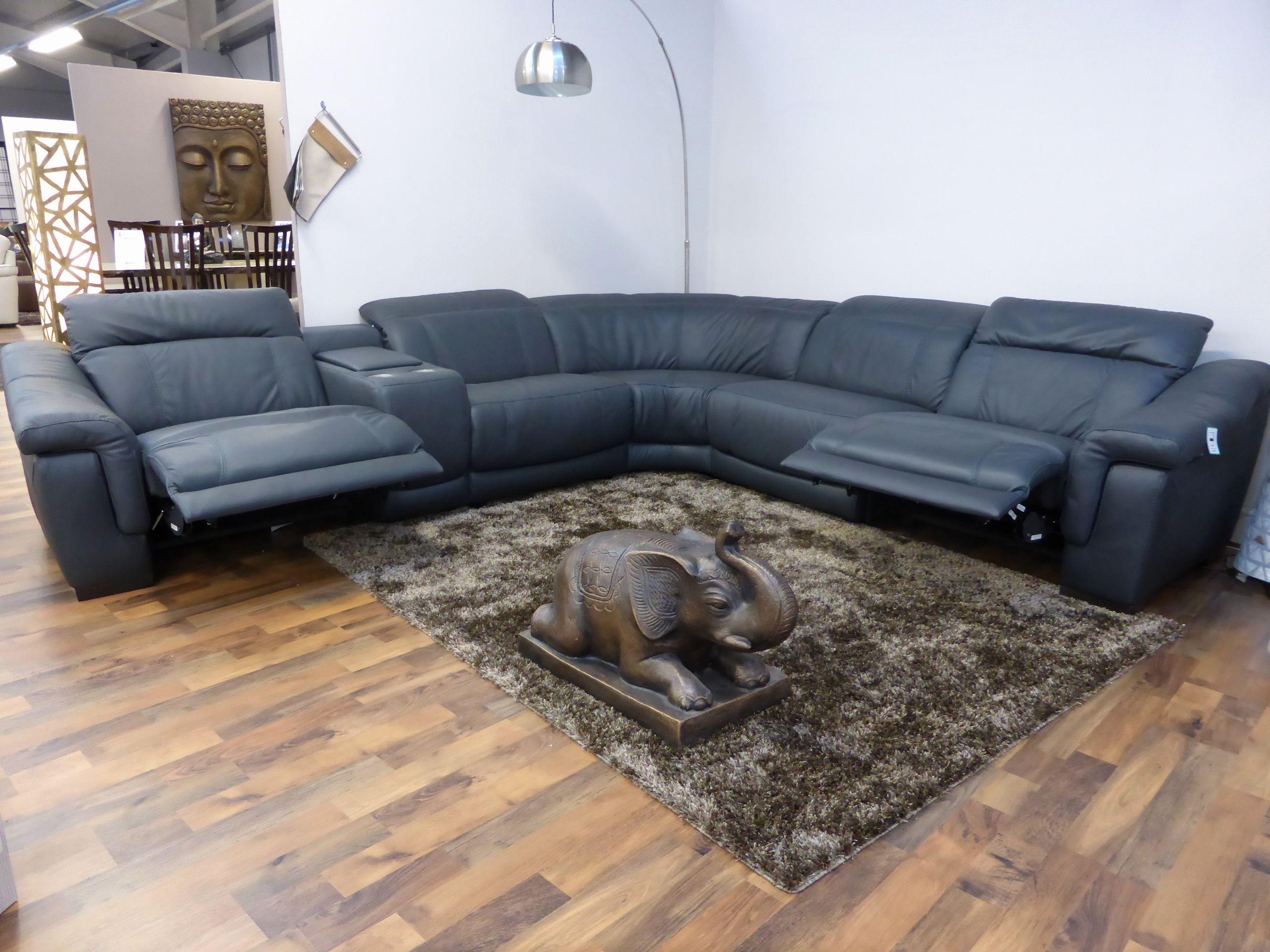 Leather Recliner Corner Sofas Brokeasshome Com