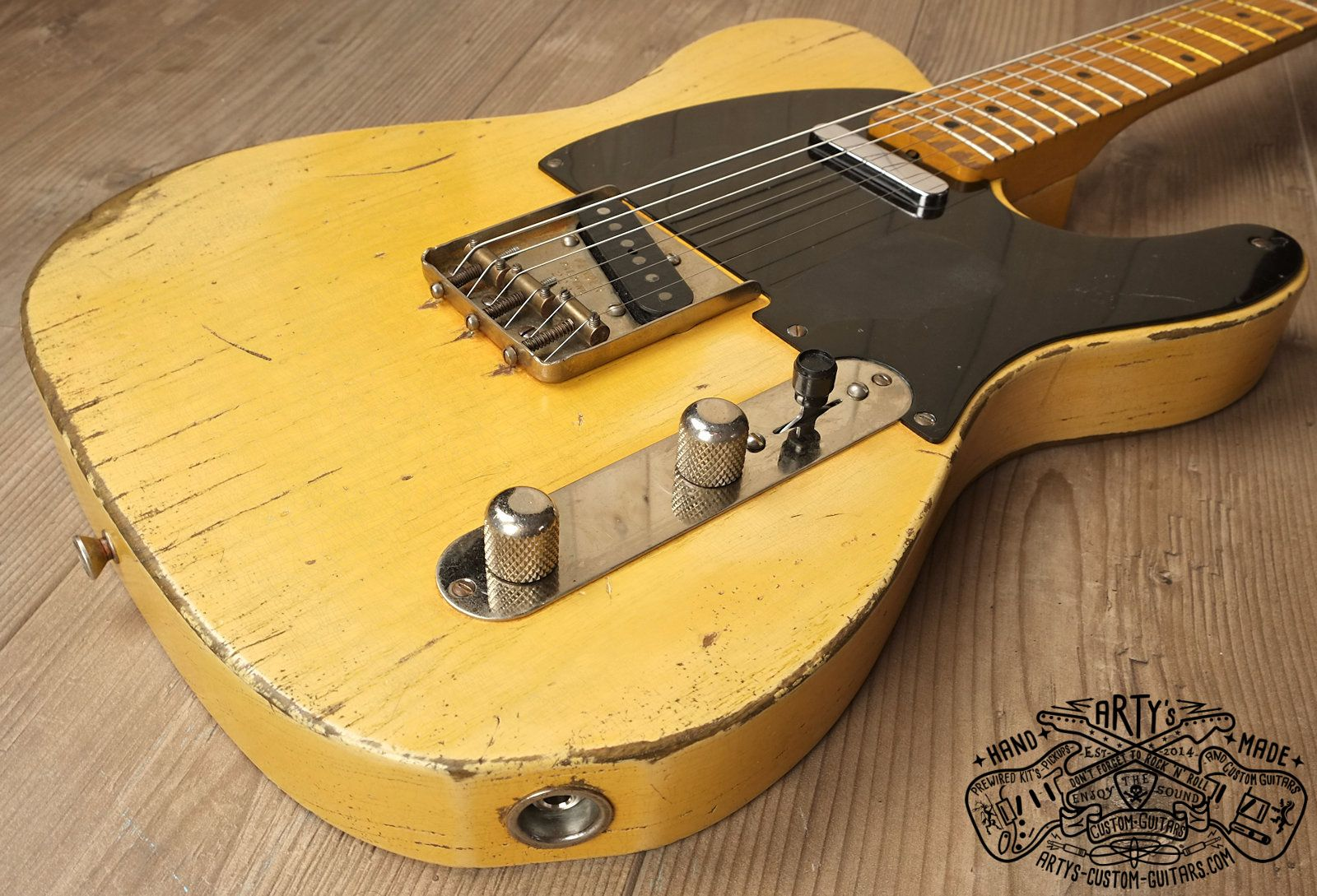 Arty's relic aged Custom Shop Guitars Gallery, prewired Kit Harness  Assembly, wiring Diagram Telecaster