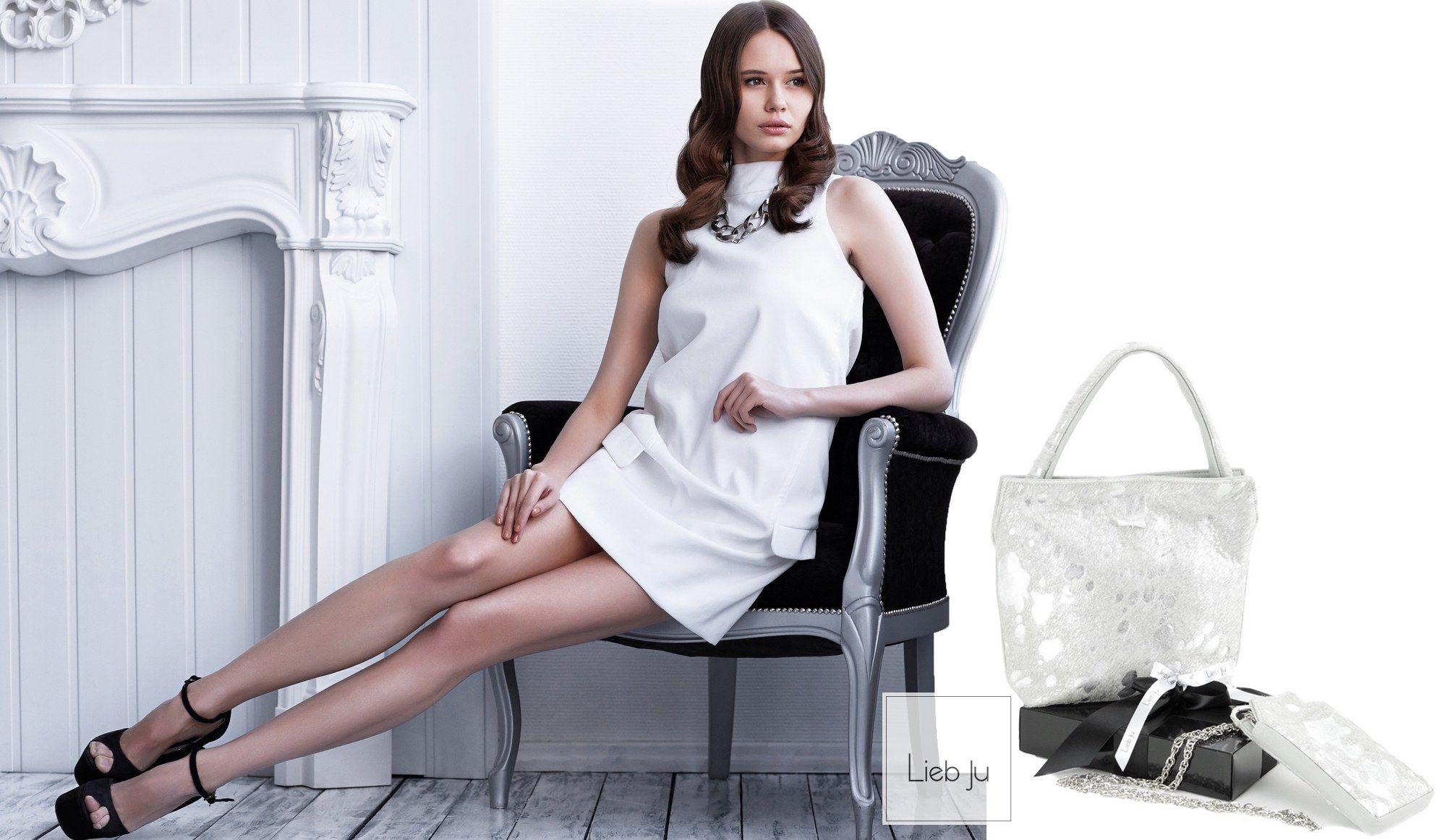 Lieb Ju Couture | Lieb Ju #liebu #design #bag #handtasche #designerbag #silber #silver #platin #luxury #leder #luxus #handmade