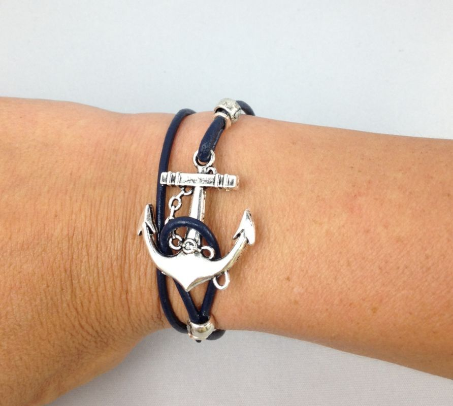 anchor nh gold navy bracelet nautical horizon product
