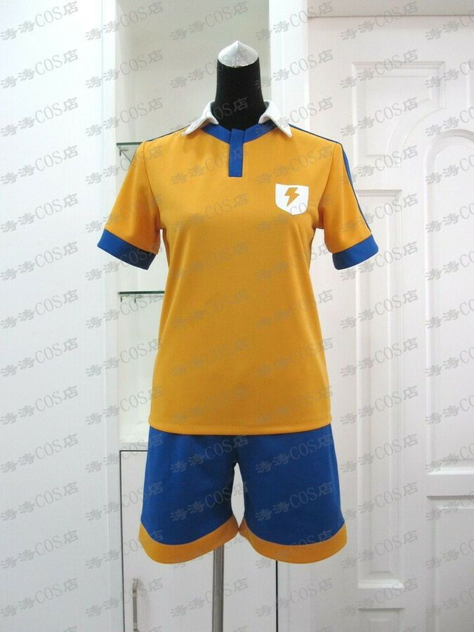 n NEW Summer Japanese Anime Inazuma.Eleven.Go Cosplay Costume Soccer Jersey