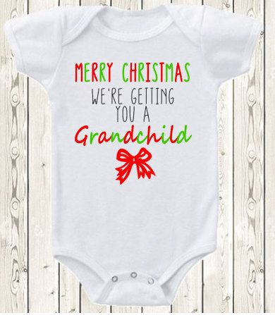 Christmas pregnancy announcement ideas onesie pregnancy and christmas pregnancy announcement ideas negle
