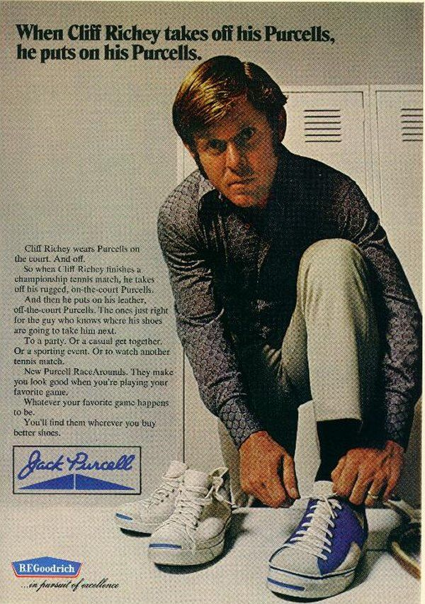 3f66063a885c Jack Purcell ad from what has to be the 70 s  60 s  Anyone know ...