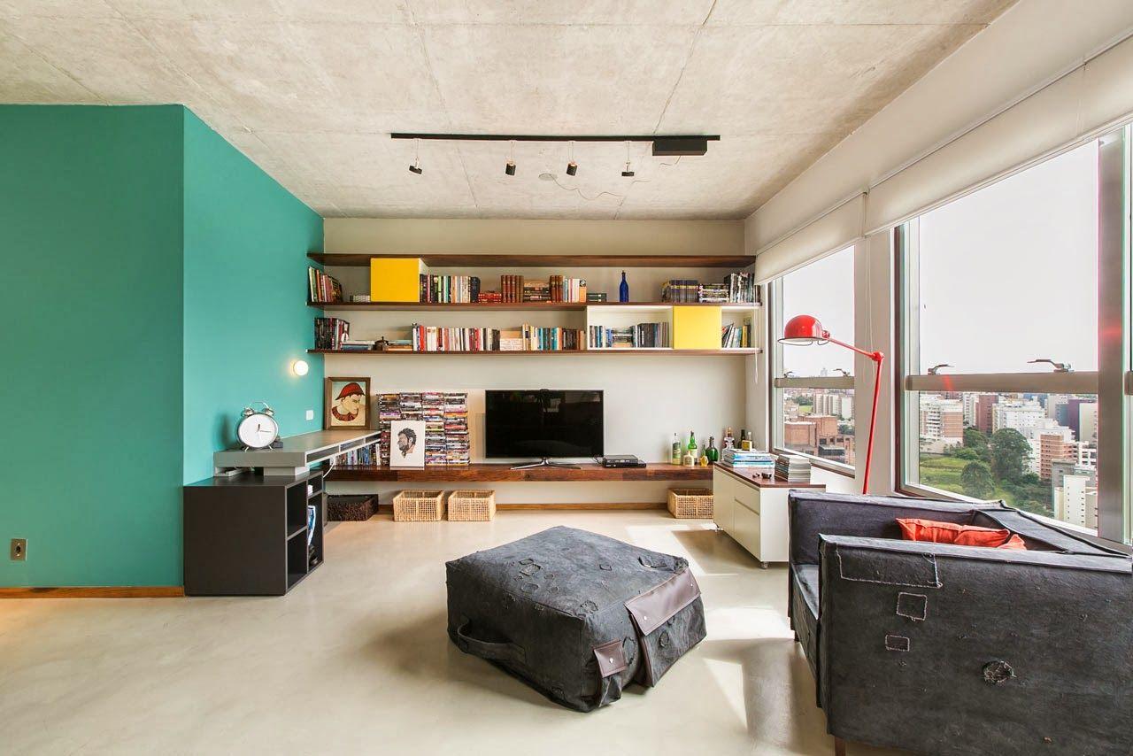 piso combinado con madera y concreto - Buscar con Google