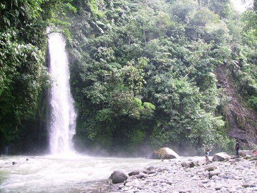 Lematang waterfall, South Sumatra by Arnest
