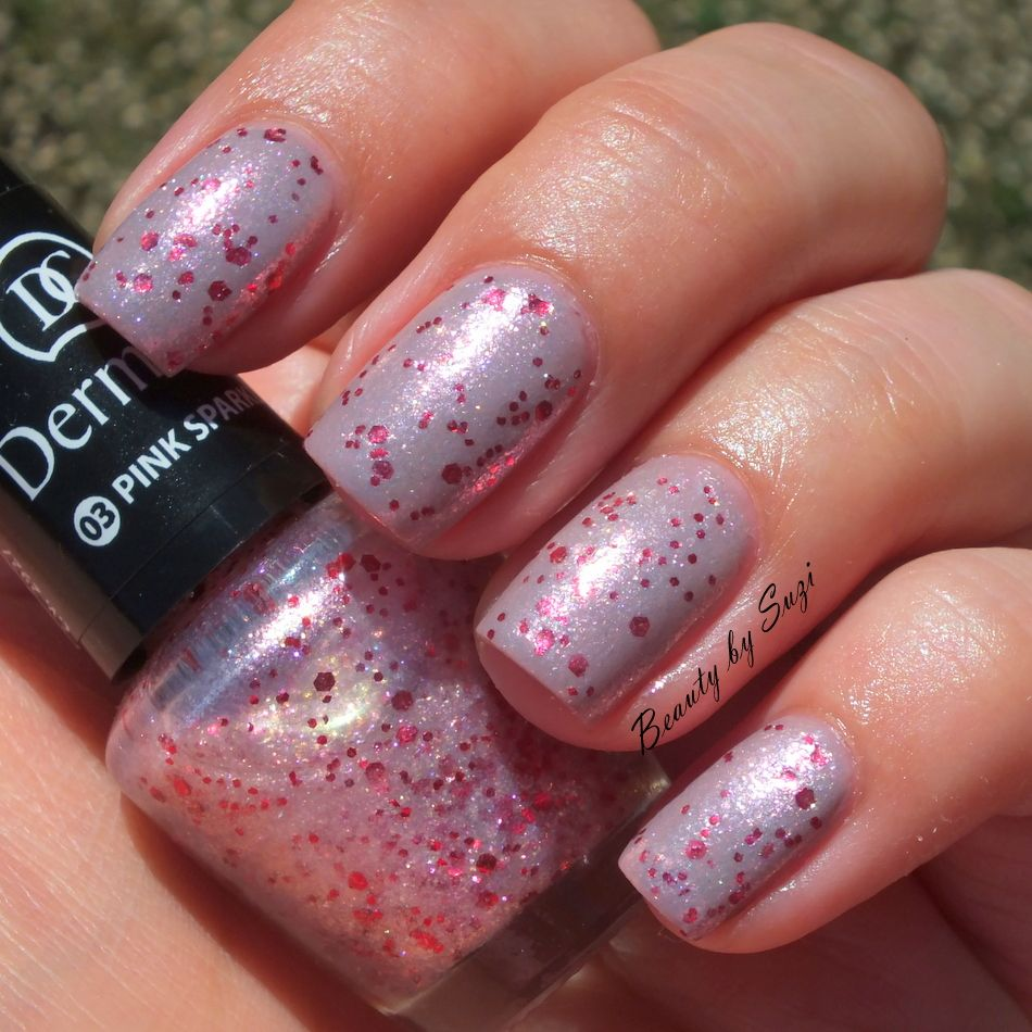Dermacol Nail Polish With Effect, 03 Pink Sparkle + Dermacol Nail Polish Advent Calendar, #23