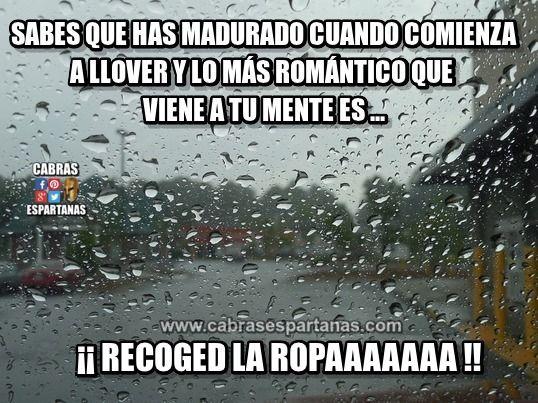 Lluvia Romantica Al Madurar No Es Lo Mismo Lluvia Memes De Lluvia Danza De La Lluvia