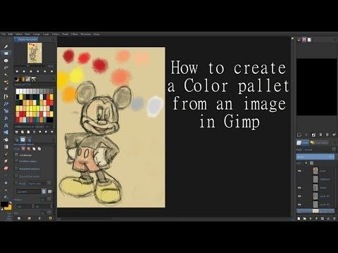 How To Create A Color Pallet From An Image In Gimp Gimp Digital