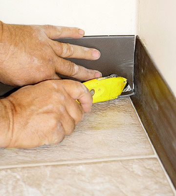How To Put On Rubber Baseboards
