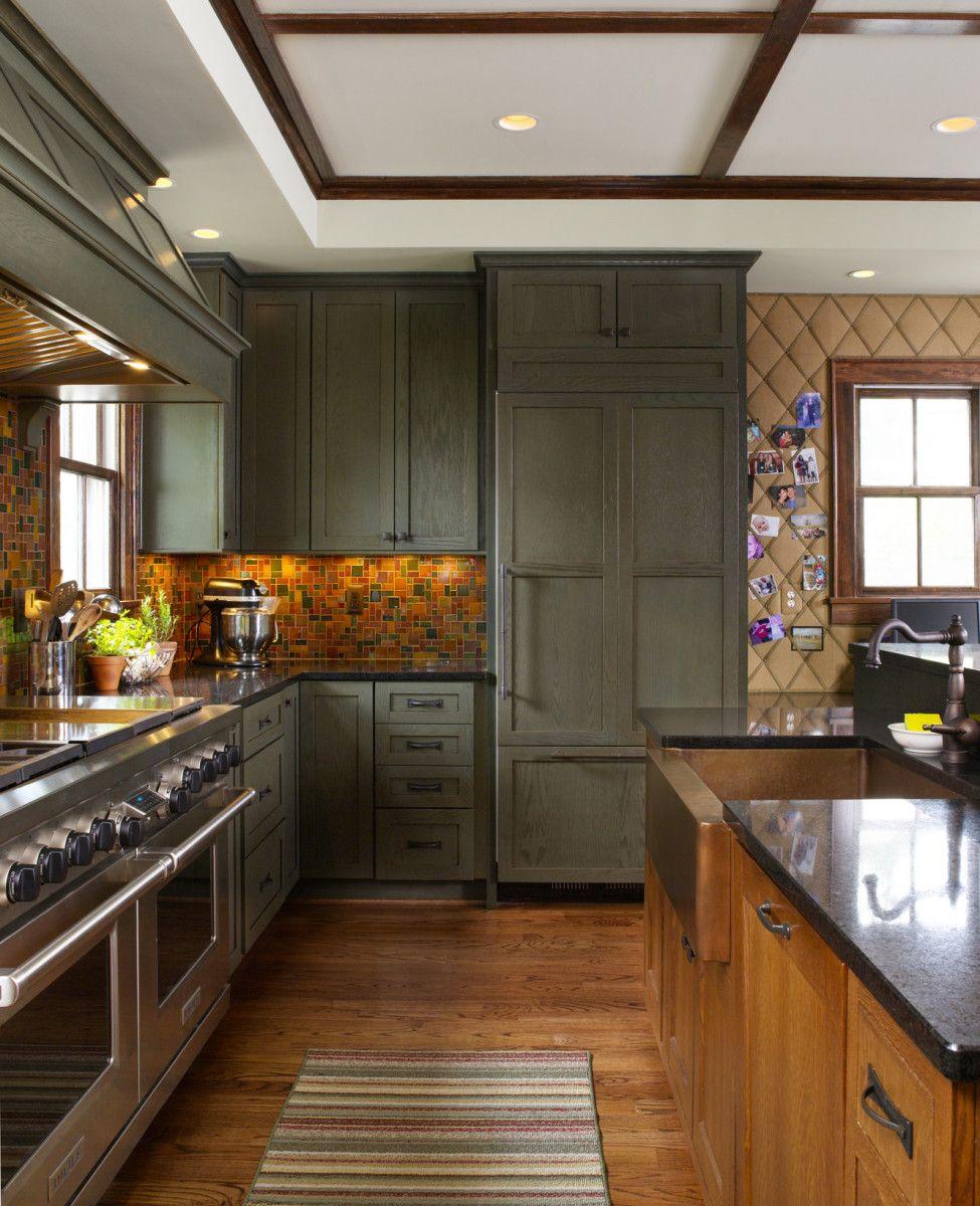 Quiet Upgrades A Modern Bungalow Make Arts Crafts Kitchens