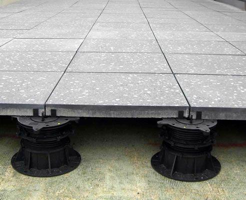 Screw Jack Paver Support Pedestals Concrete Pavers Roof Detail Pedestal