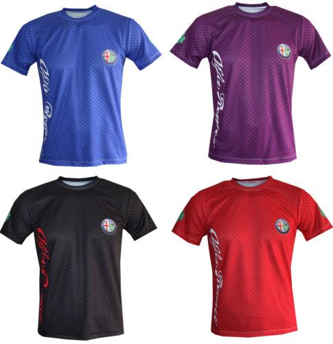 Alfa Romeo T shirt Maglietta Camiseta giulia quadrifoglio